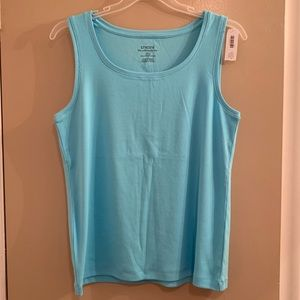 Chico's Ultimate Tee Scoop Neck Tank - Size 3